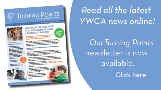 YWCA Turning Points newsletter. Click to read